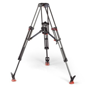MILLER ARROW 40 HEAD / SACHTLER 5386 CARBON TRIPOD
